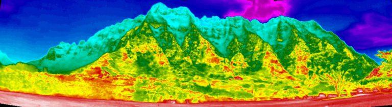 Oahu Central Koolau Mountain Range
